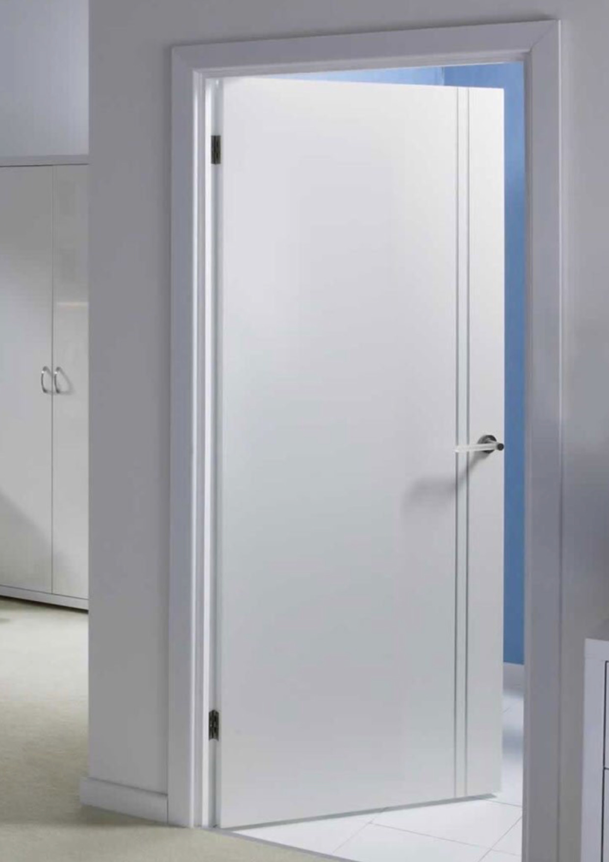 Puertas de paso blancas puertas castalla greco with - Puertas paso blancas ...