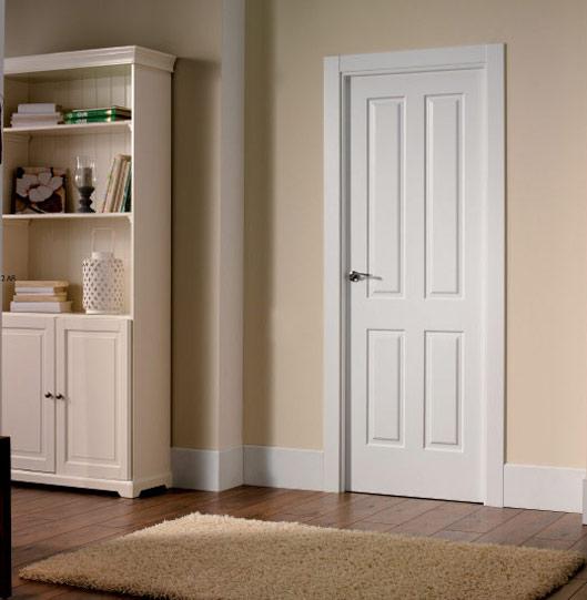 Puertas de interior blancas puertas lusan fabrica y for Restaurar puertas interior casa