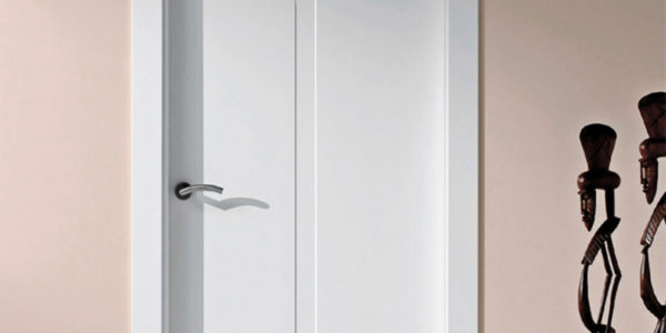 Puertas de interior lacadas en blanco