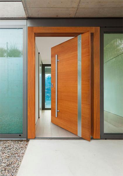 Puertas blindadas, puertas contemporaneas | Puertas Lusan